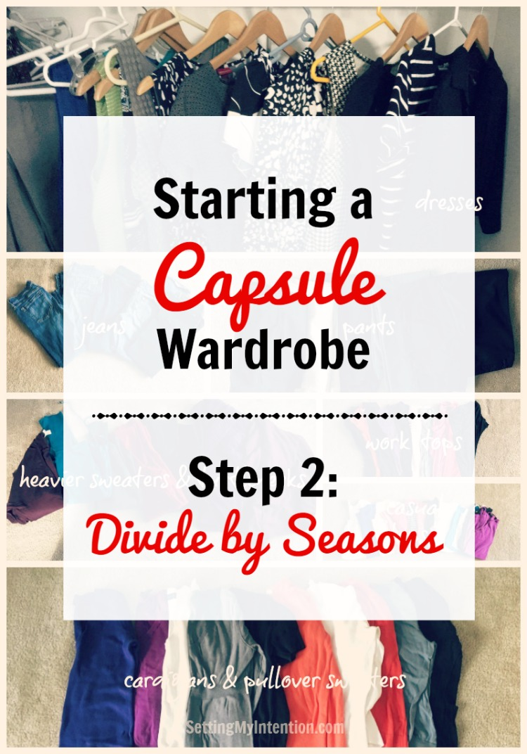 fall capsule wardrobe step 2