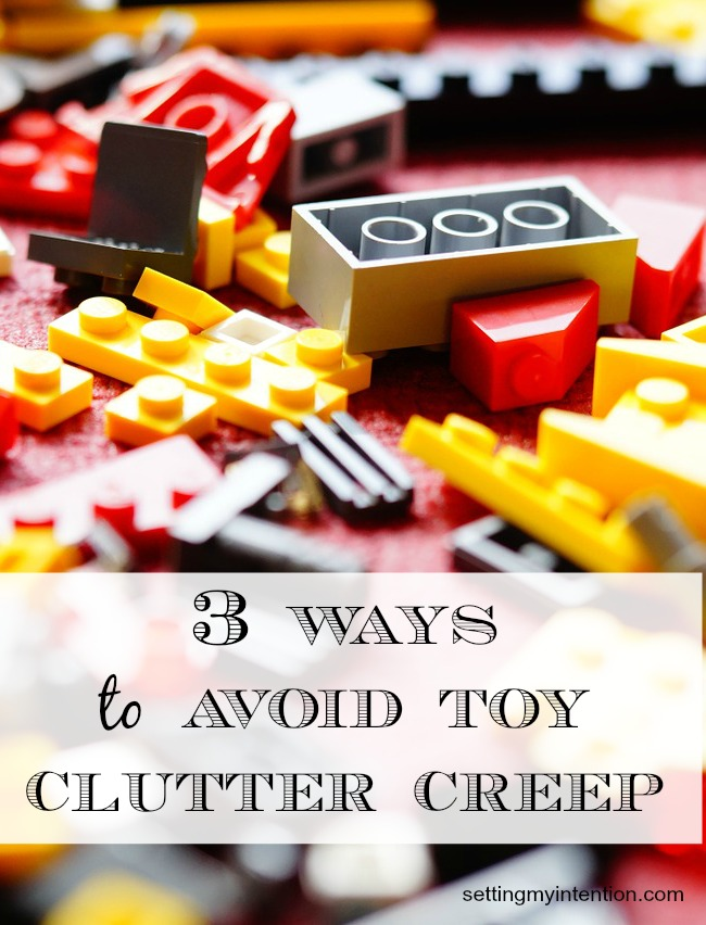 3 ways to avoid toy clutter creep