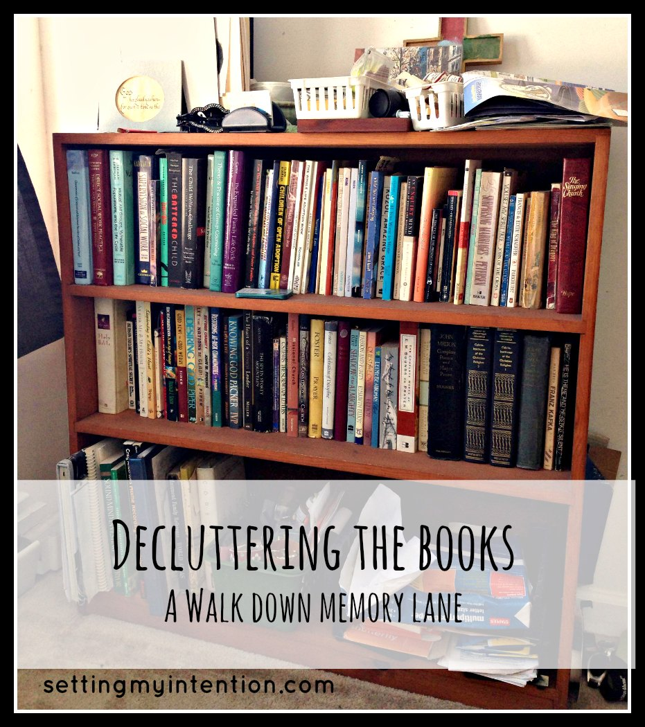 Decluttering The Books: A Walk Down Memory Lane