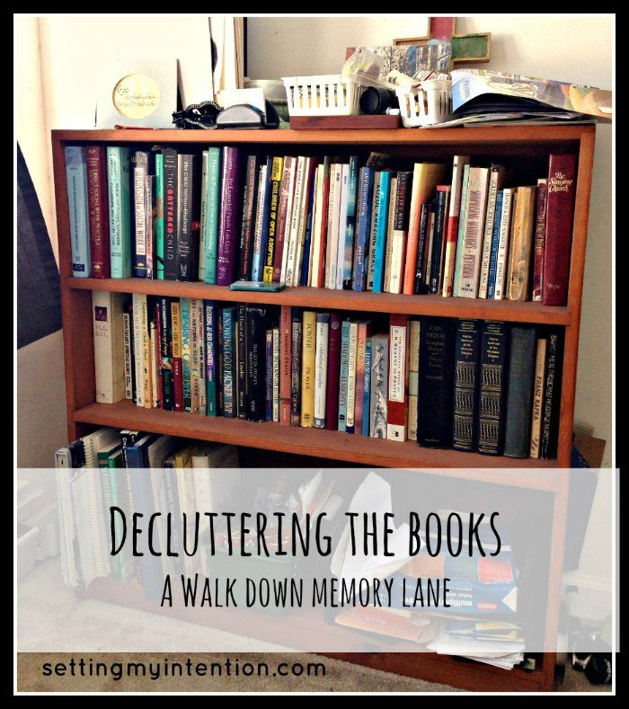 Decluttering the Bookshelves