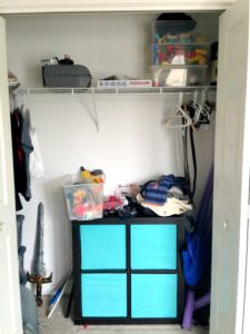 Clothing Storage After