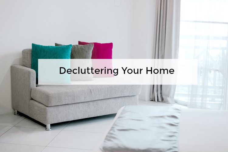 Decluttering your home before and after photos