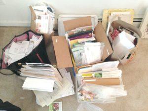decluttering paper clutter