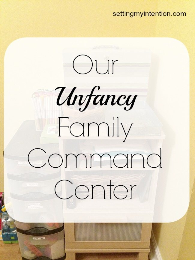 Unfancy Family Command Center
