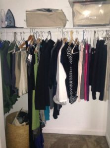 KonMari Method Closet After