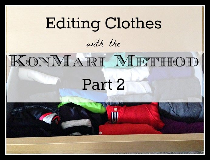 KonMari Method Part 2