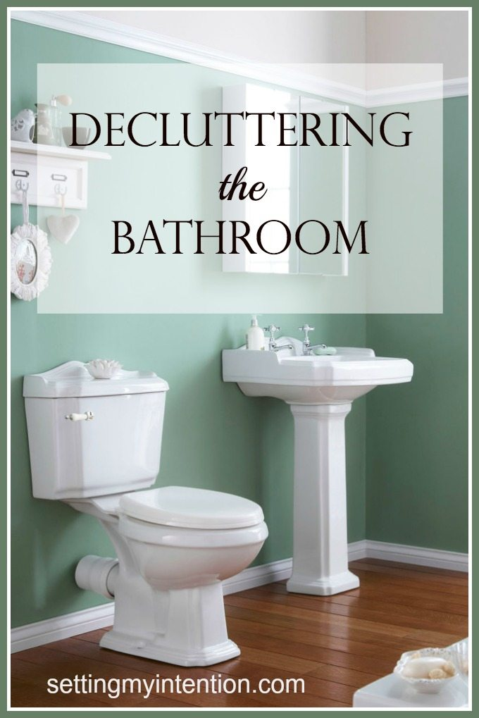 Decluttering the Bathroom