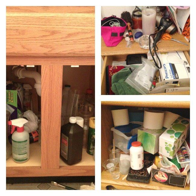 Decluttering-Bathroom