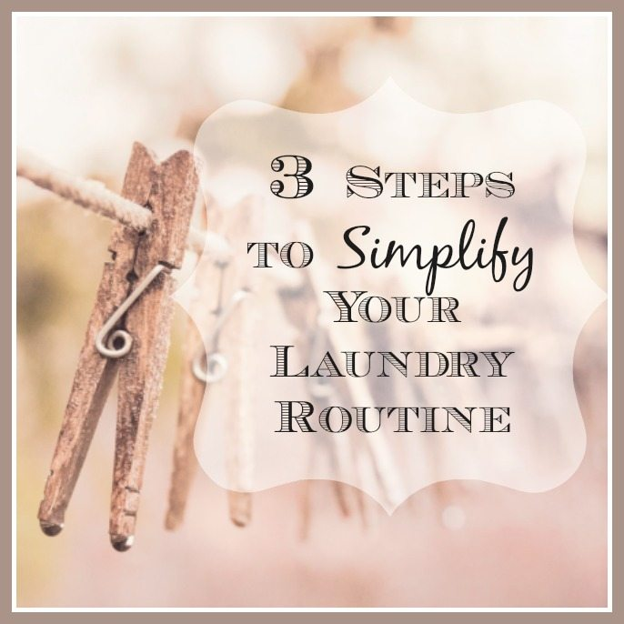 Simplify Laundry Routine
