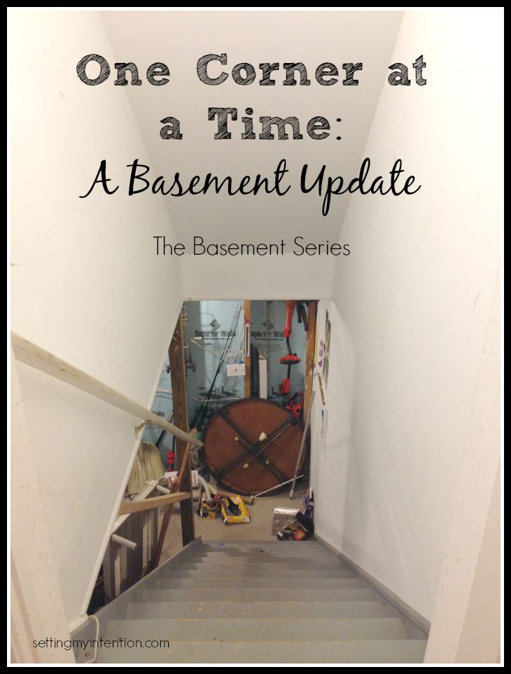 decluttering-basement-update