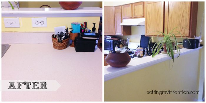 Declutter Your Home Kitchen Counter