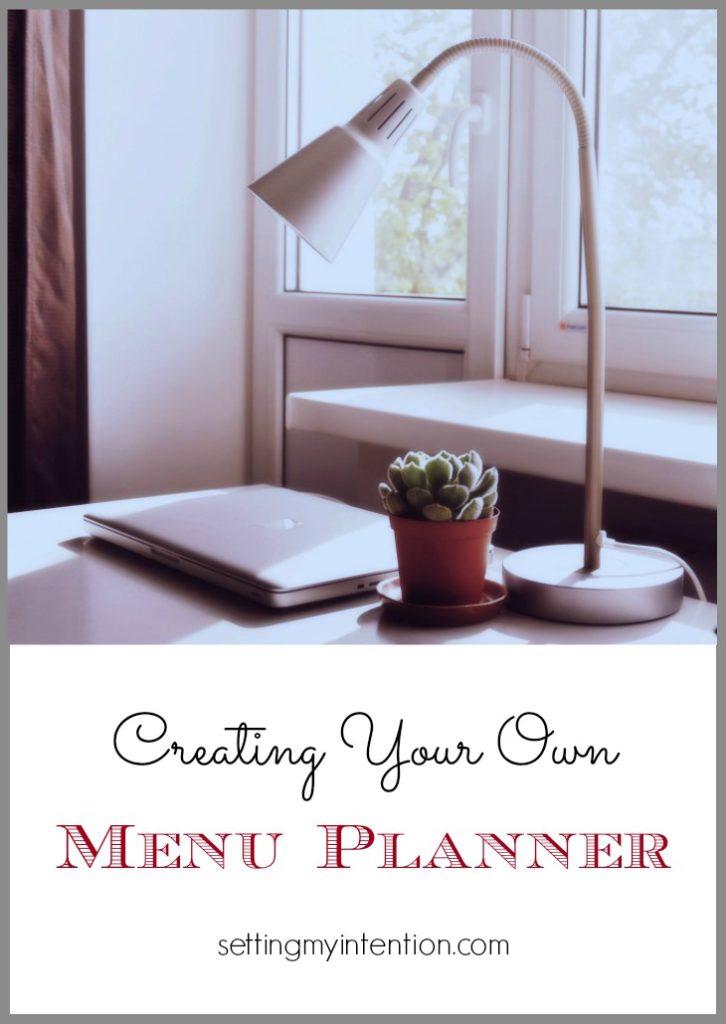 free menu planner