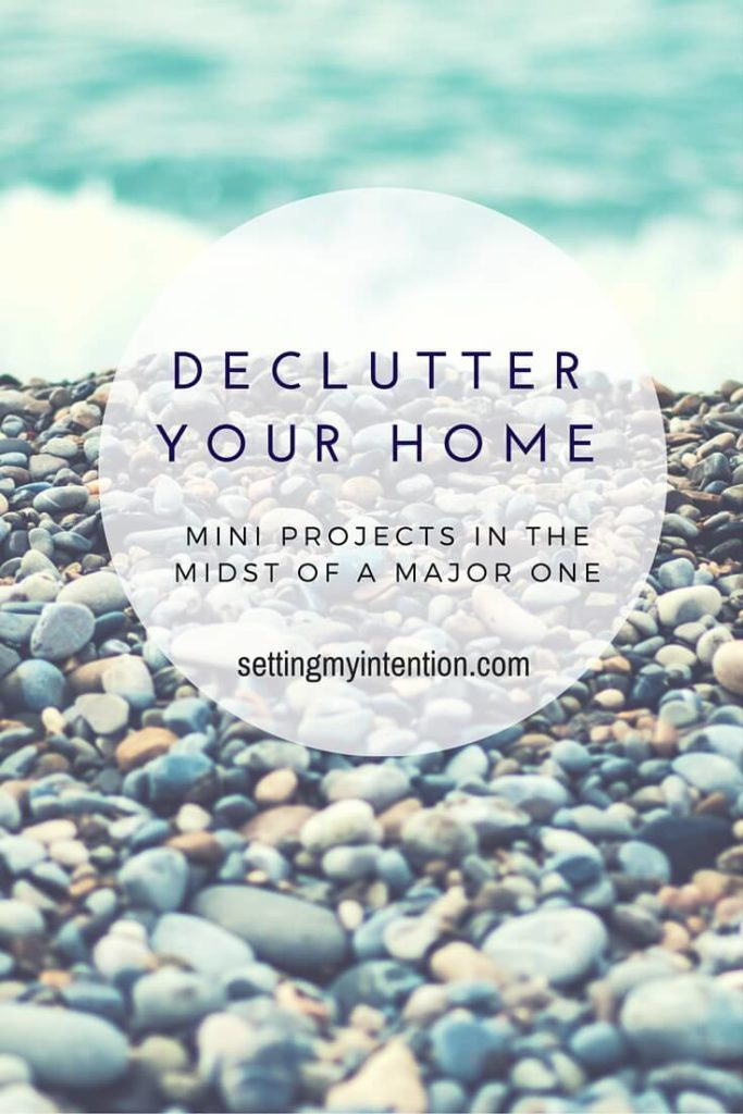 declutter your home storage bench