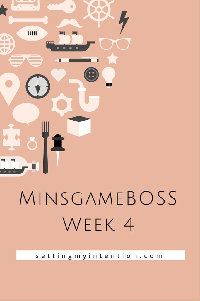 minsgameBOSS Week 4