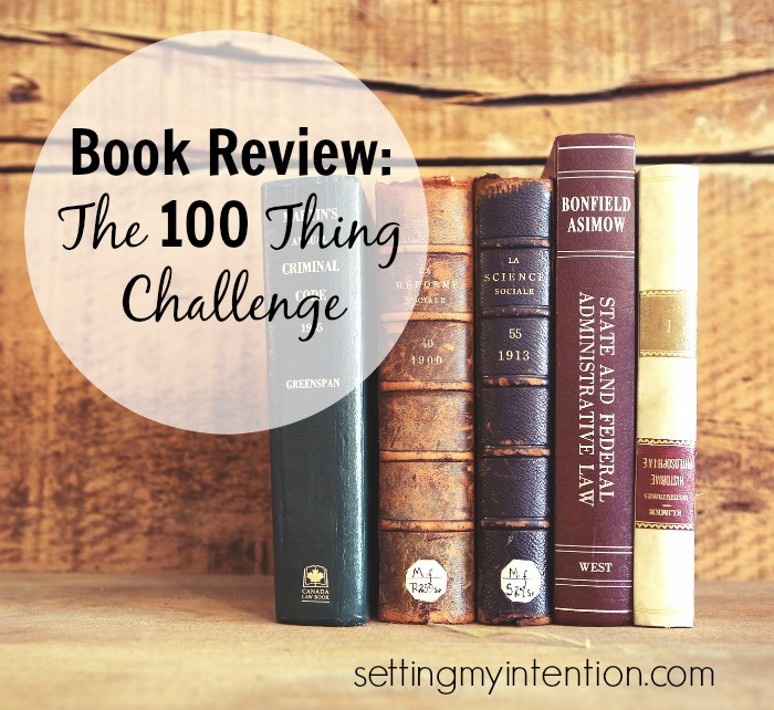 Book Review 100 things challenge