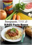 Immigrants, Ragu Pasta Sauce, and Kimchi