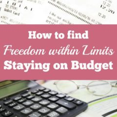 How to Find Freedom Within Limits