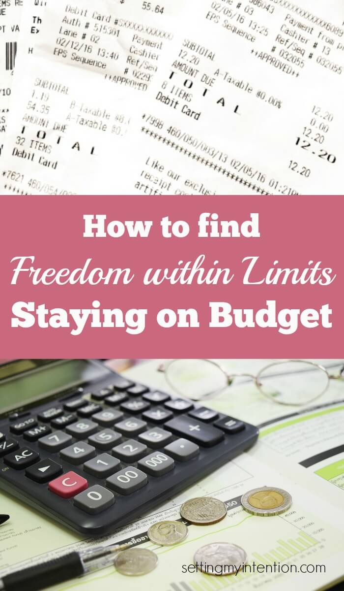 Freedom within Limits: Staying on Budget
