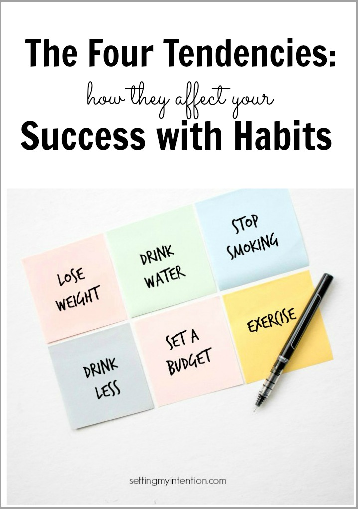 The Four Tendencies and habits