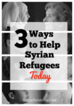 3 Ways to Help Syrian Refugees Today