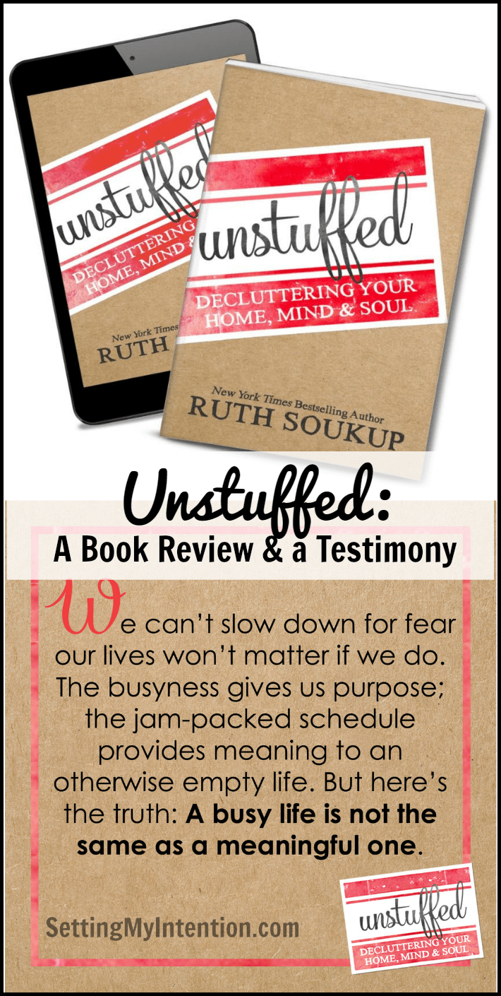 Unstuffed: A Book Review