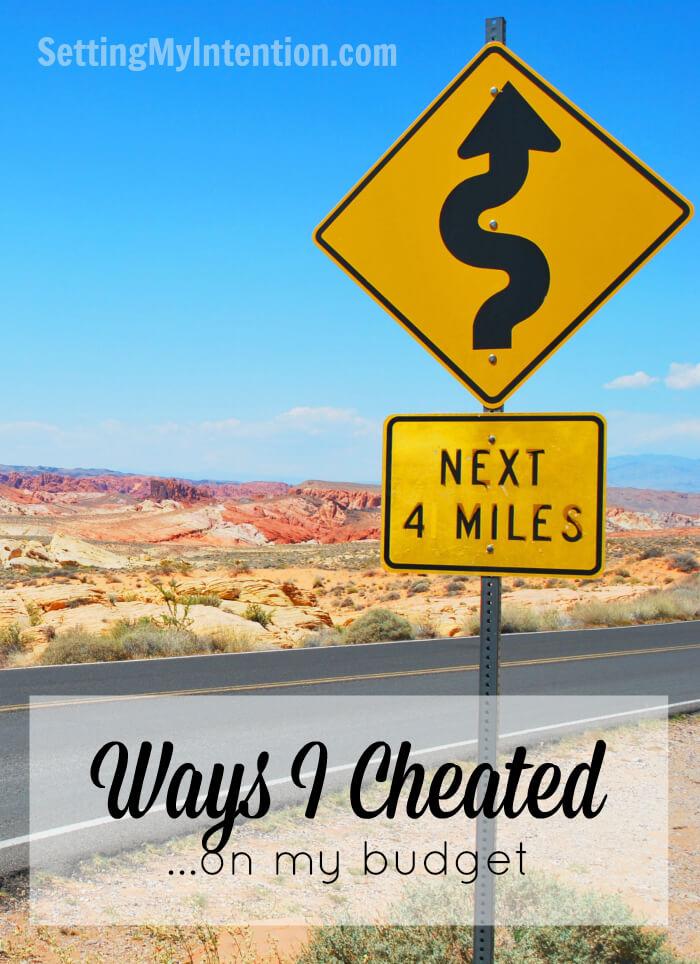 Ways I Cheated
