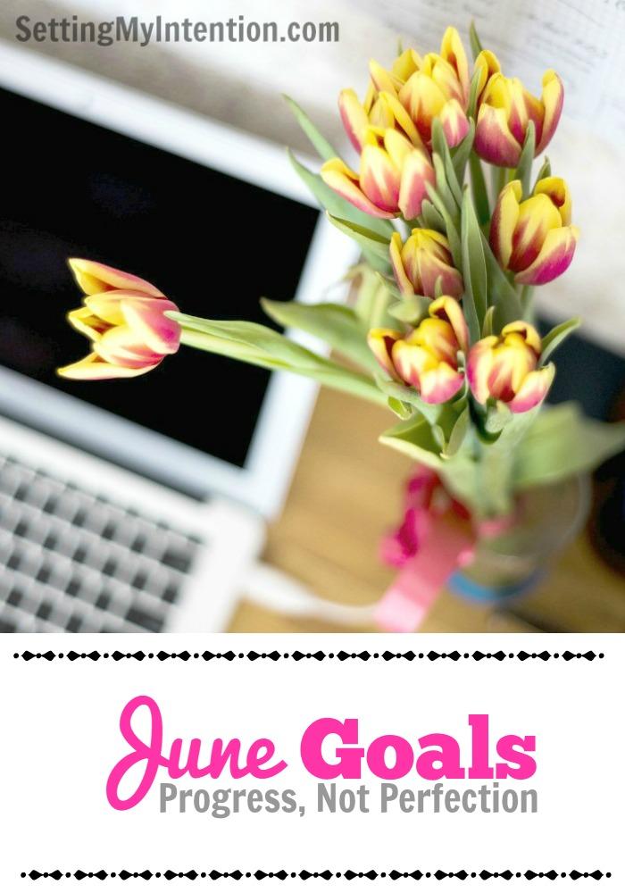 Monthly Goals for June 2016