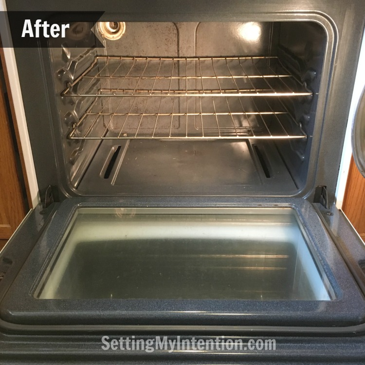Our naturally clean oven