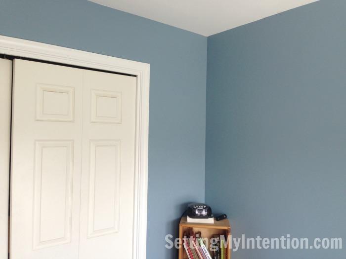 Painted boys bedroom