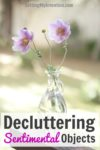 A Funny Story About Decluttering Sentimental Objects