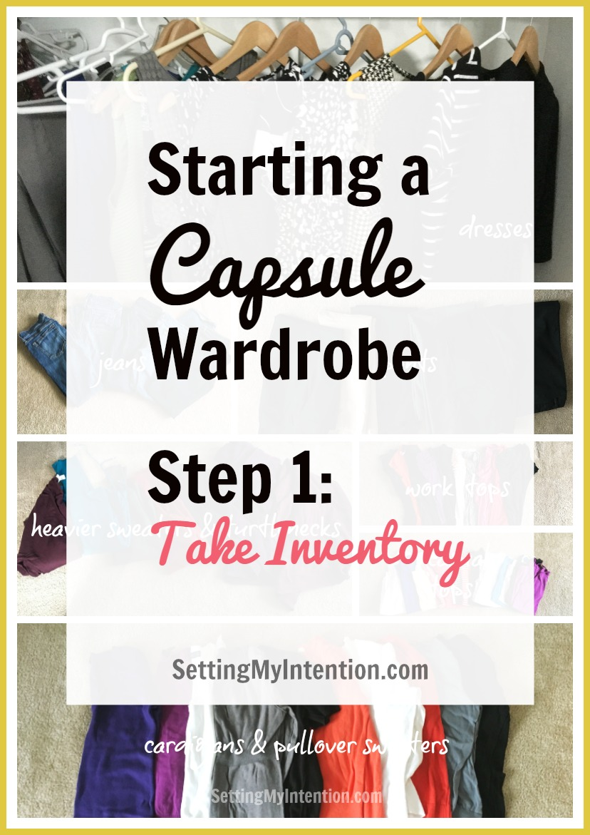 Starting An Intentional Capsule Wardrobe