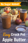 Easy Apple Butter in the Crockpot