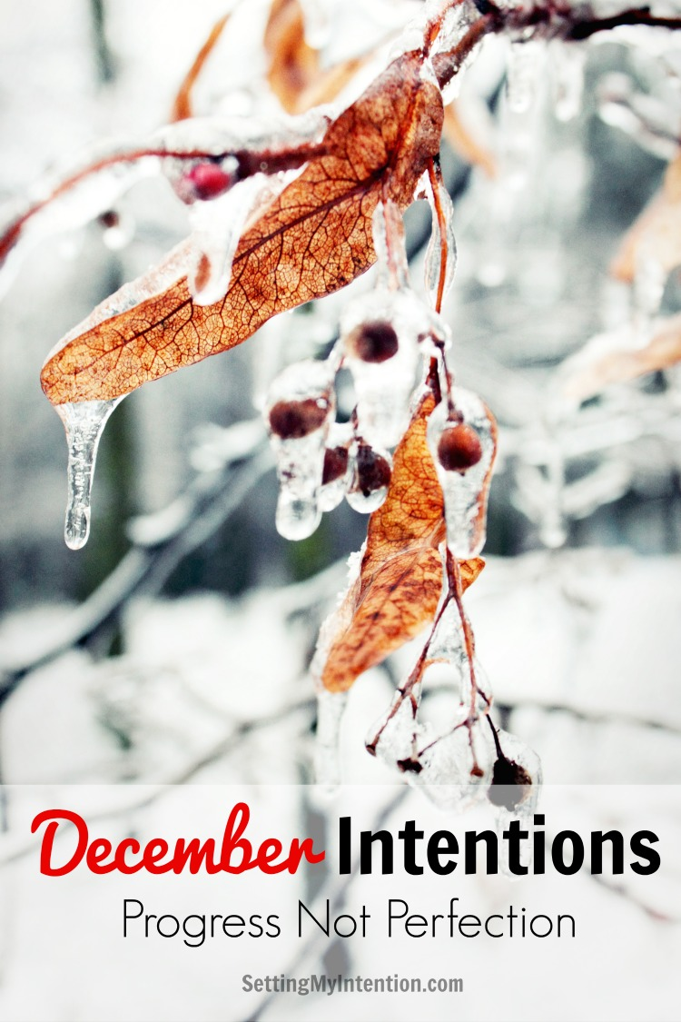 Monthly Intentions for December