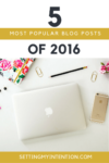 Top 5 Posts in 2016