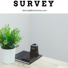 First Annual Blog Reader Survey