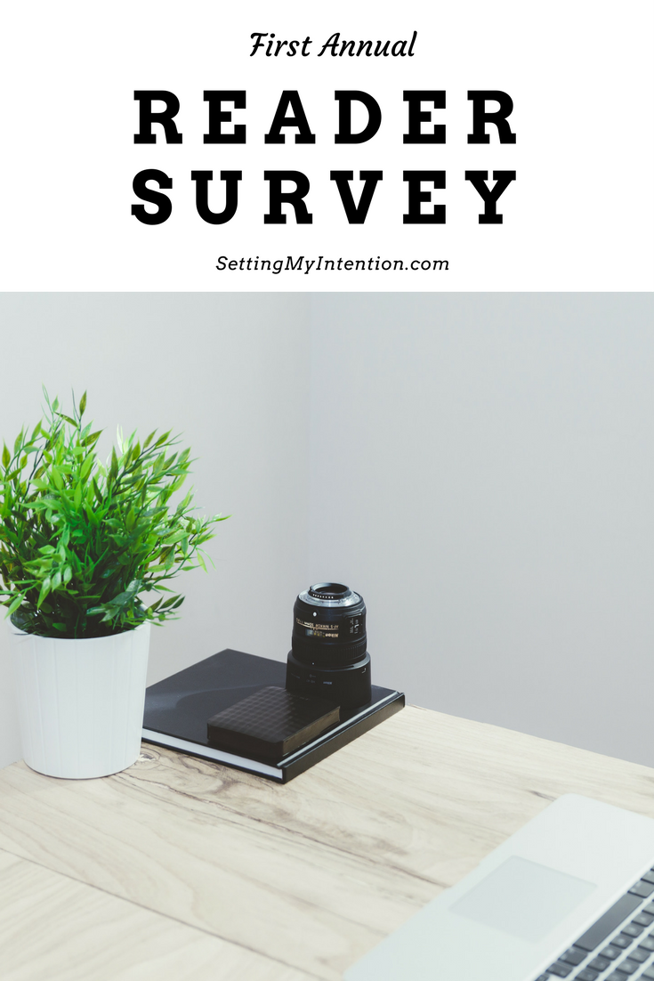 2017 Blog Reader Survey - only 6 questions!
