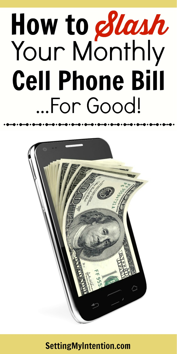 How to save money on your cell phone bill - for good! If your cell phone bill is a budget buster every month, consider these other options.