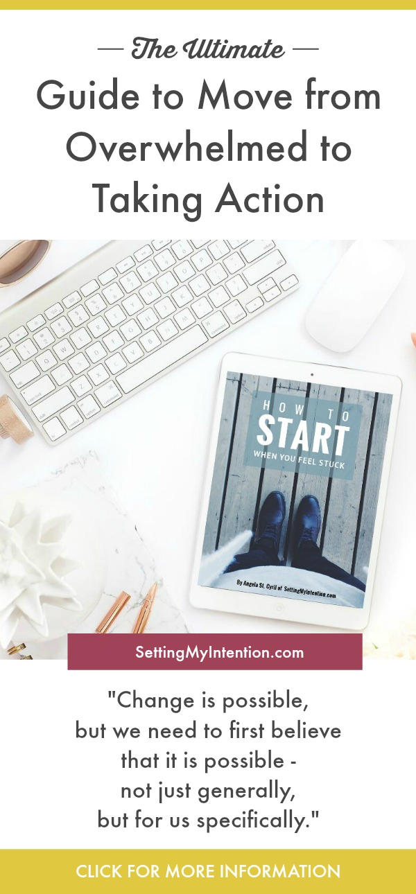 This eBook is short and full of actionable tips for those who don't know where to start in 5 areas of life - one of them being decluttering!