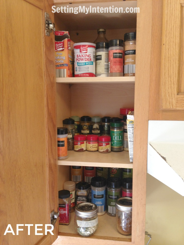 5 pivotal lessons learned while decluttering the spice cabinet