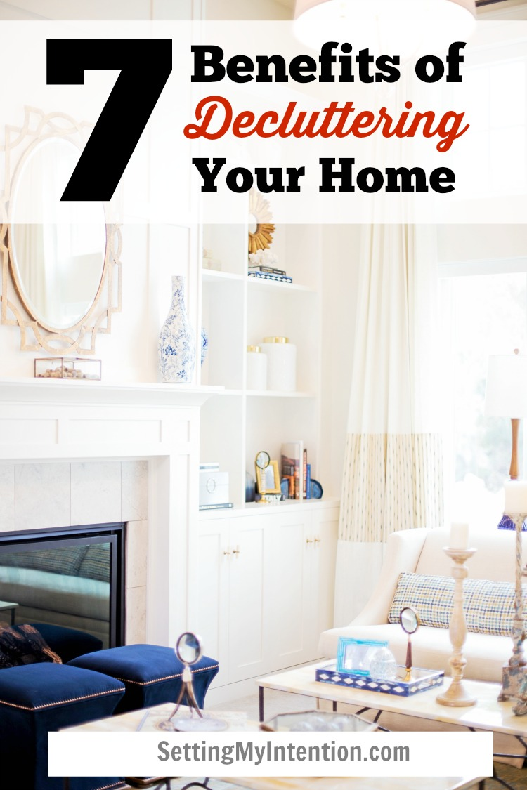 7 benefits of decluttering your home, beyond clutter free surfaces
