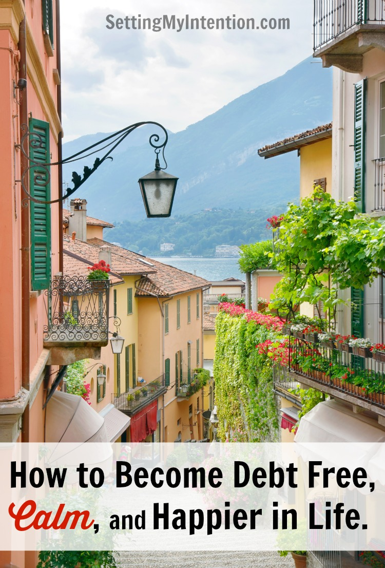 Simple living interviews: how to become debt free, calm, and happier in life