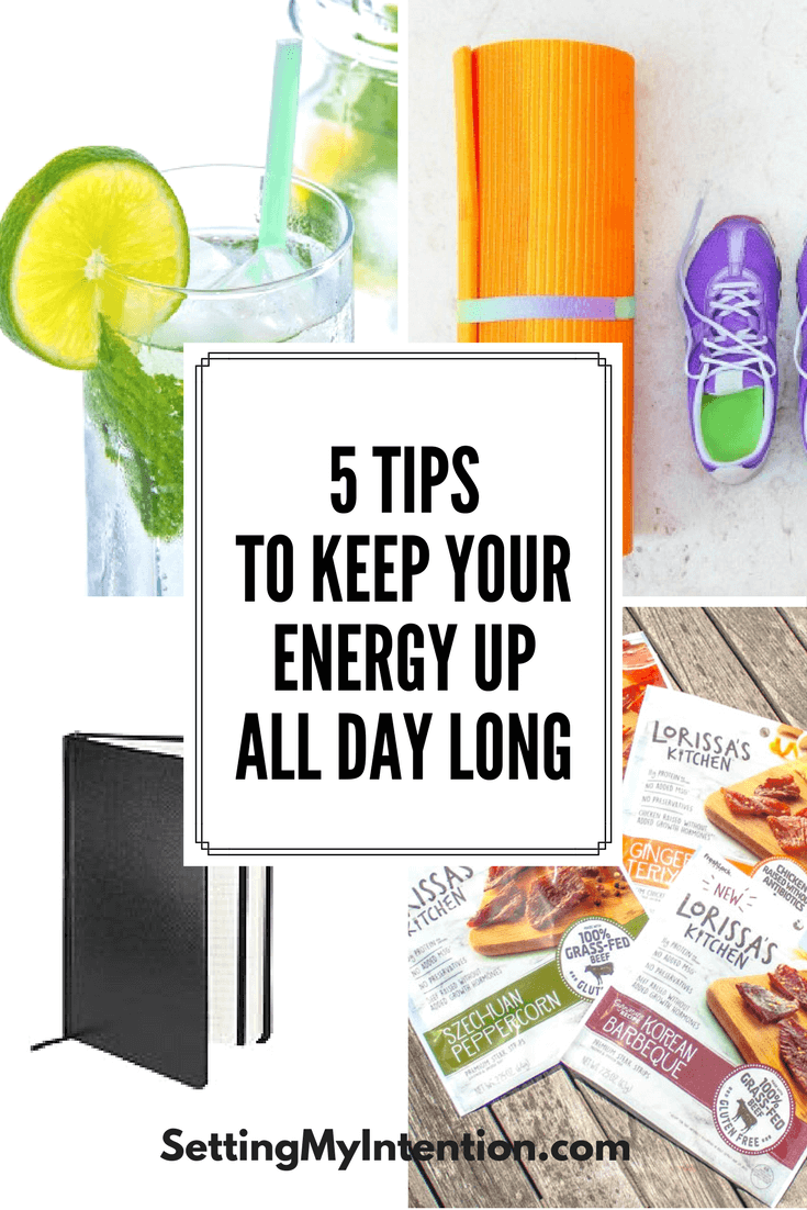How to maintain your energy throughout the day