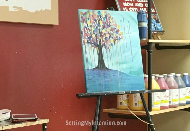 Girls' night out painting