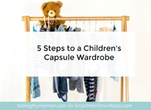 5 Steps to Start a Capsule Wardrobe for Kids