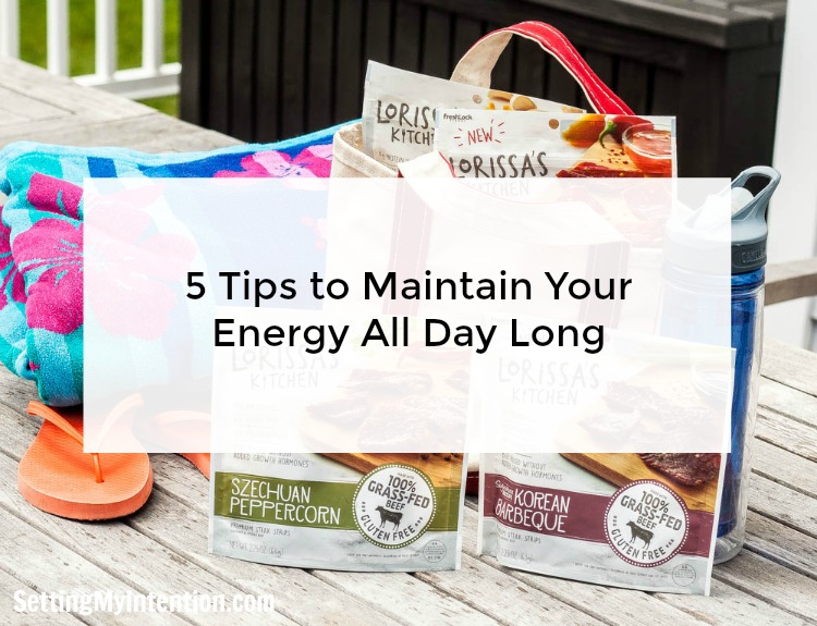 5 ways to maintain your energy throughout the day