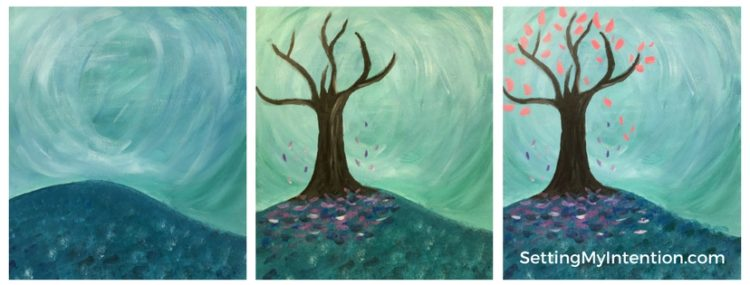 Painting with a twist sequence