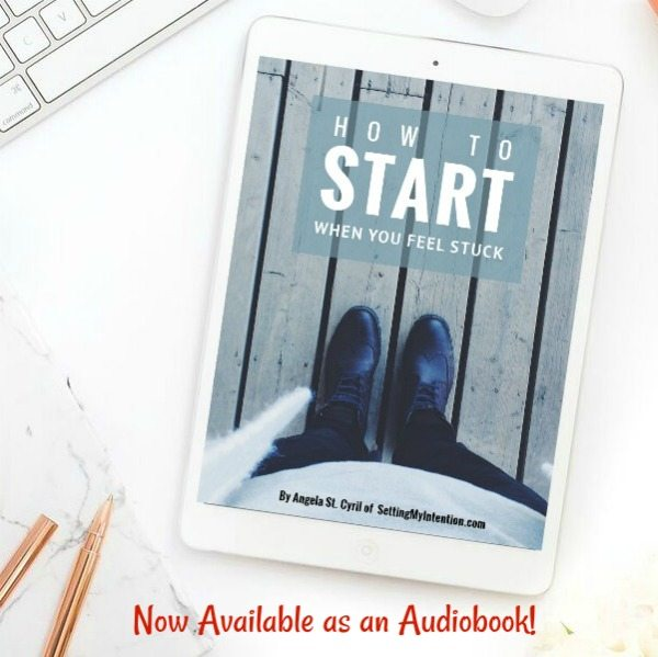 How to Start When You Feel Stuck, now available on Audiobook!