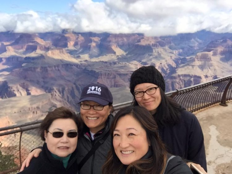 benefits of firsts - first time at the Grand Canyon!