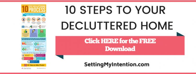 10 Step decluttering process