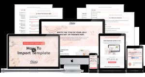 BluChic Landing Page Templates
